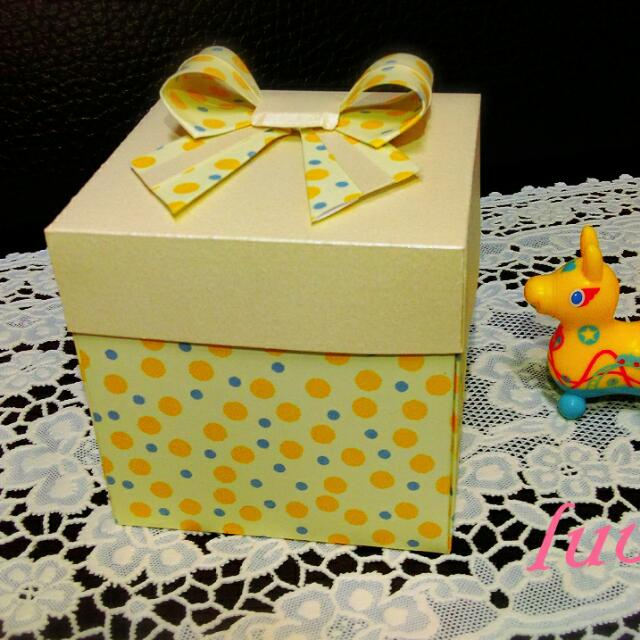 禮物盒立體卡片