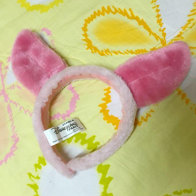迪士尼 維尼 小豬 髮箍