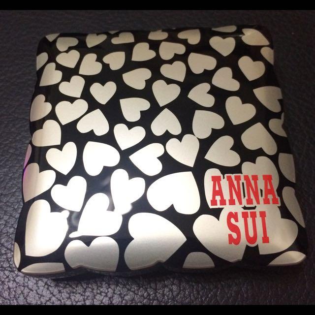 Anna Sui限量版粉餅外盒 全新品