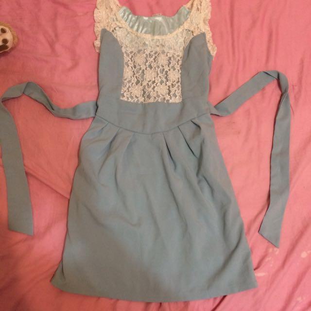 Baby藍 小洋裝
