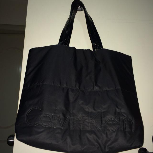 (保留中)Calvin Klein CK正品 防水購物包