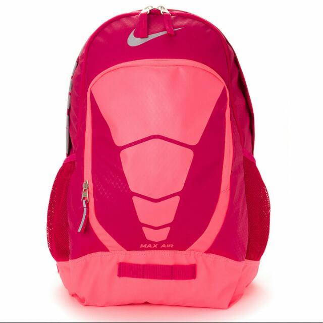 Nike air max 紅色後背書包