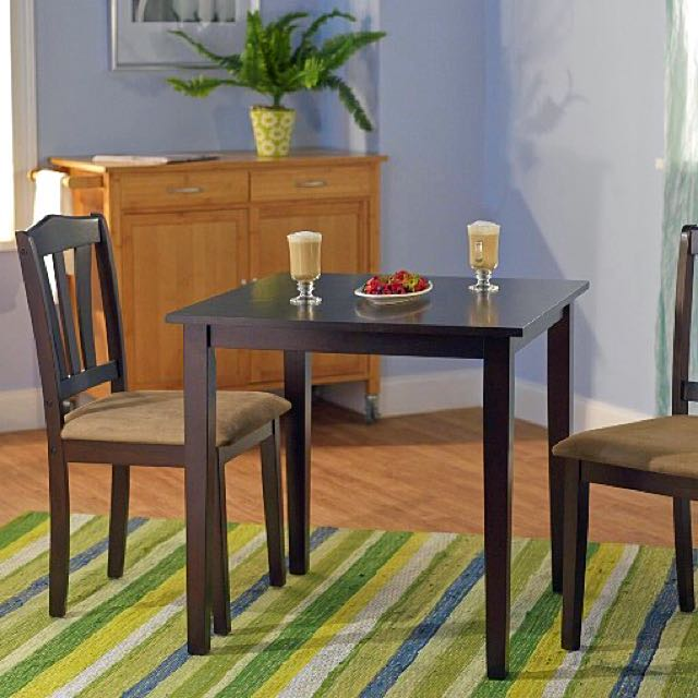 Good Tms Metropolitan 3 Piece Dining Set Furniture On Carou