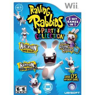 Raving Rabbids Party Collection For Wii