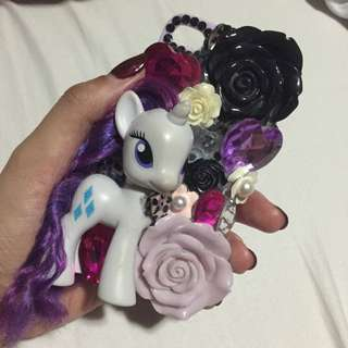 Customised Rarity Pony Cover (iphone 4s)