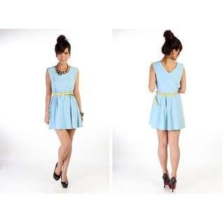 Marchshop Pris Dress - Baby Blue BNIB