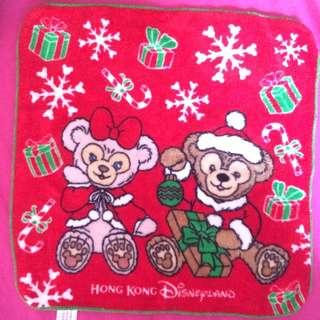 香港迪士尼Duffy小方巾