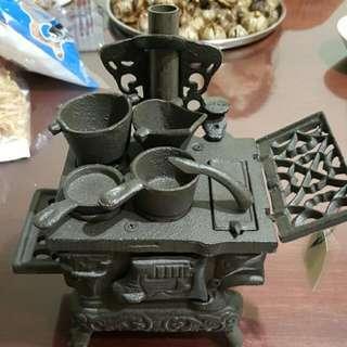 古早爐灶模型