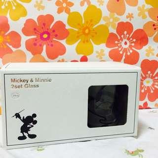米奇米妮對杯 [Mickey & Minnie 2set Glass]