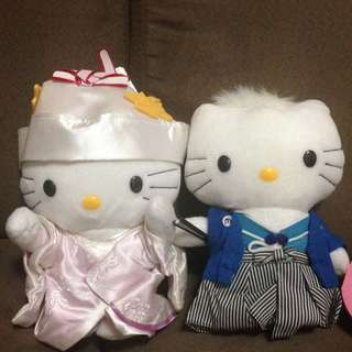Hello Kitty Japanese Wedding