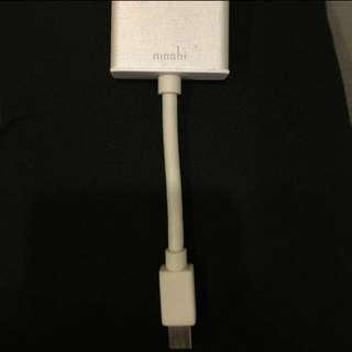 Moshi  MacBook Air Pro HDMI轉接線