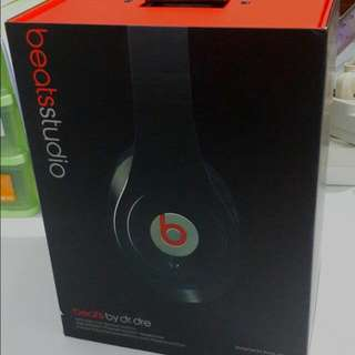 Beats Studio Wireless Headphone By Dr Dre ASLI