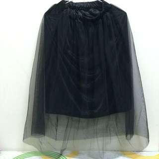 全新-薄紗長裙