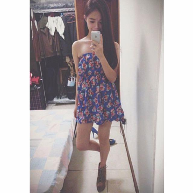 碎花小洋裝