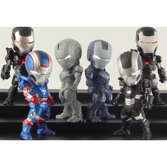 超夯Iron Man公仔👾戰爭版