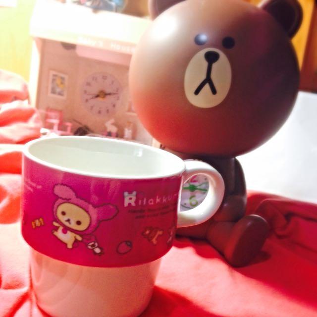 (全新)拉拉熊馬克杯