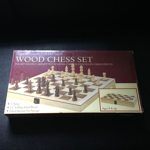"Chess 15"" Wooden"