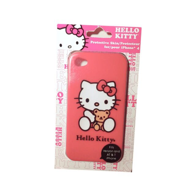 Hello Kitty 4s手機殼📱