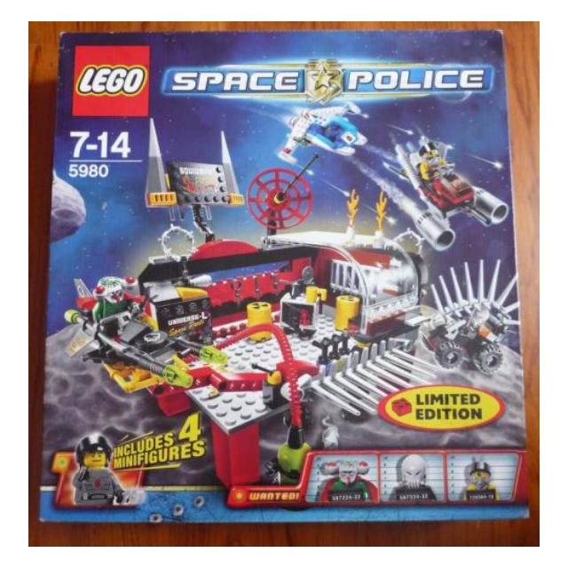Baukästen & Konstruktion Lego 5980 Space Police LEGO Bau- & Konstruktionsspielzeug