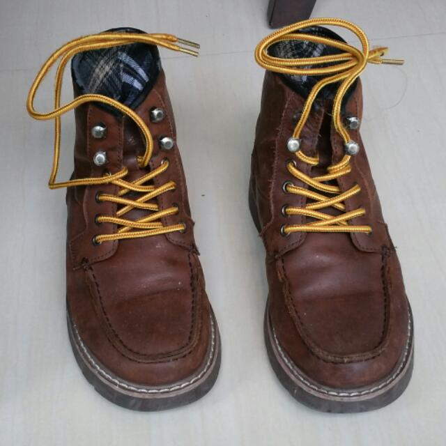 pretty nice 80c0c fa6a9 Replica Red Wing Lookalike Boots, Men's Fashion on Carousell