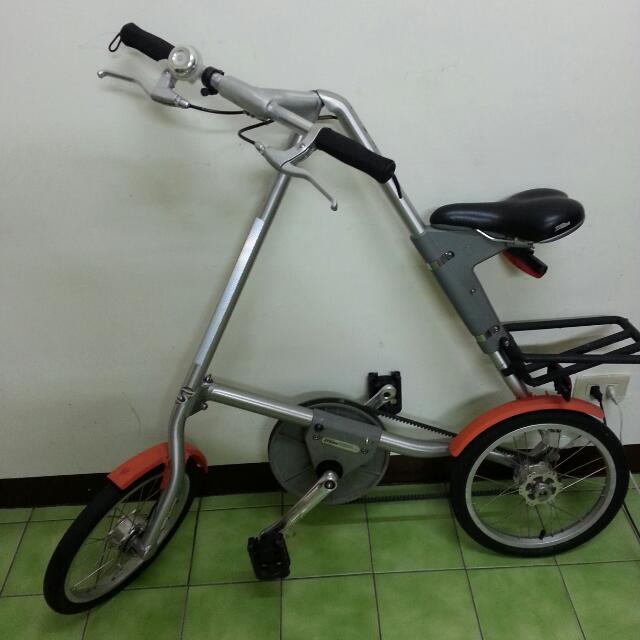 摺疊腳踏車,送兩個攜行袋
