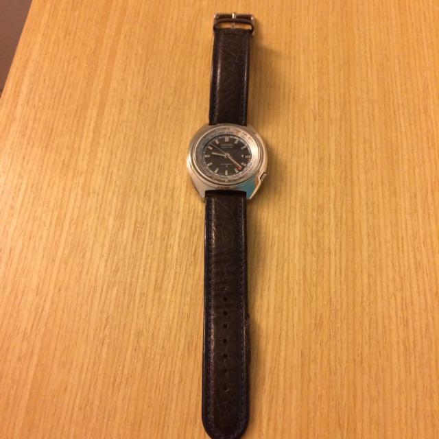 Vintage Seiko 6117-6400 World Time Watch