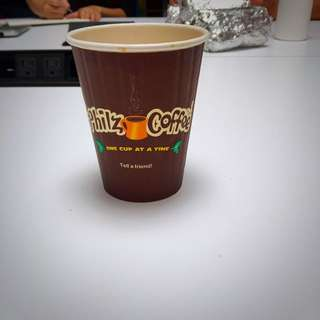 Used Philz Coffee Cup