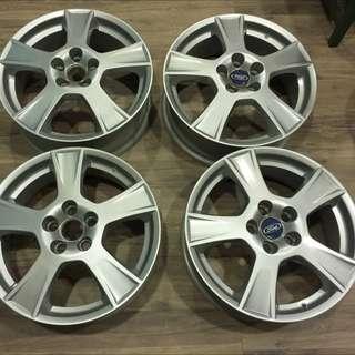 FORD MONDEO RS 2.5原廠17吋鋁圈4顆(全新)