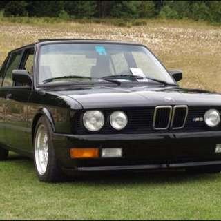 BMW寶馬5系E28左大燈組