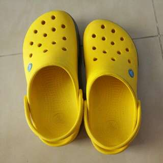 Yellow Crocs Shoes (reserved)