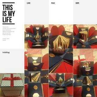 手工卡片 - 基本款禮物盒