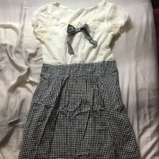 贈品-二手雪紡洋裝
