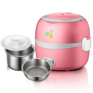 Bear Electric Lunch Box (Steamer, Rice Cooker, Egg, Mini, Brand New, LunchBox)