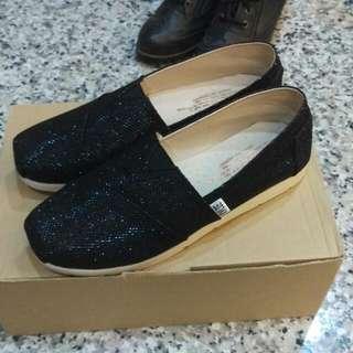 黑色平底鞋-22.5