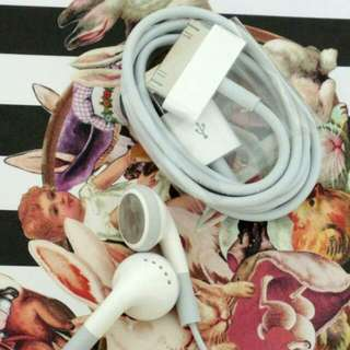Genuine iPod / iPhone cable
