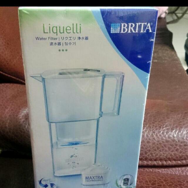 ((免運))((全新未拆))德國 BRITA 力酷型 Liquelli 冷調白 2.2 公升