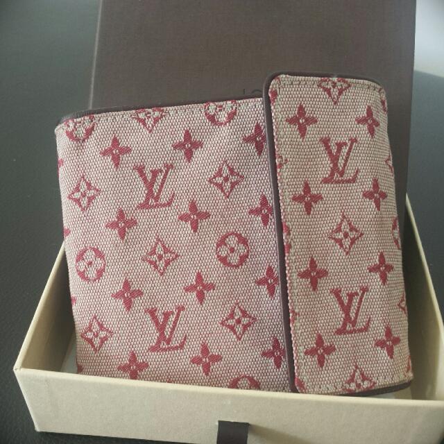 Authentic LV Cherry Monogram Wallet
