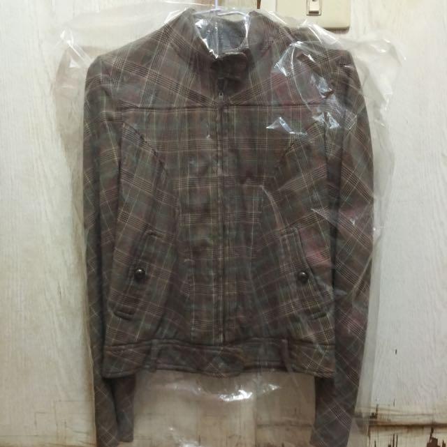 二手-LYLE&SCOTT格紋外套
