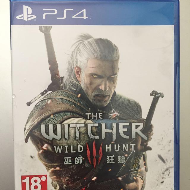 PS4 巫師狂獵