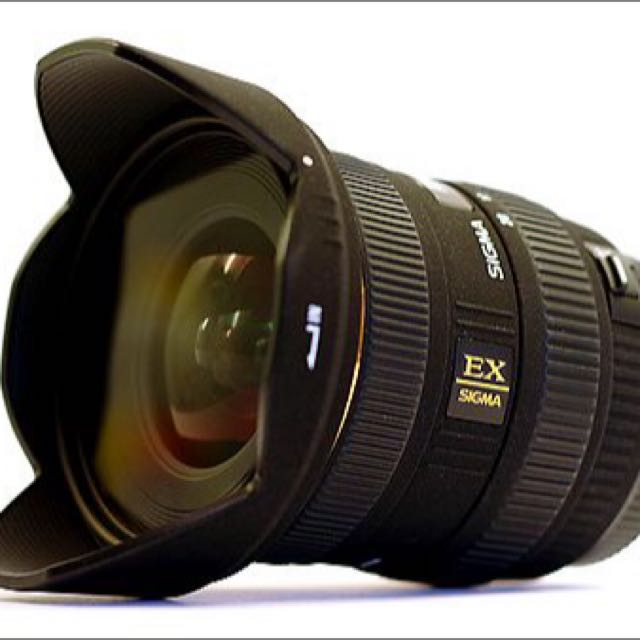 Sigma 10-20mm Wide Angle Lens DC HSM F4-5.6