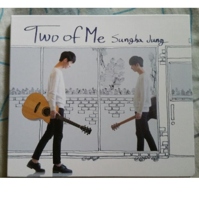 Sungha Jung's Album Two Of Me With Autograph!!!, Music