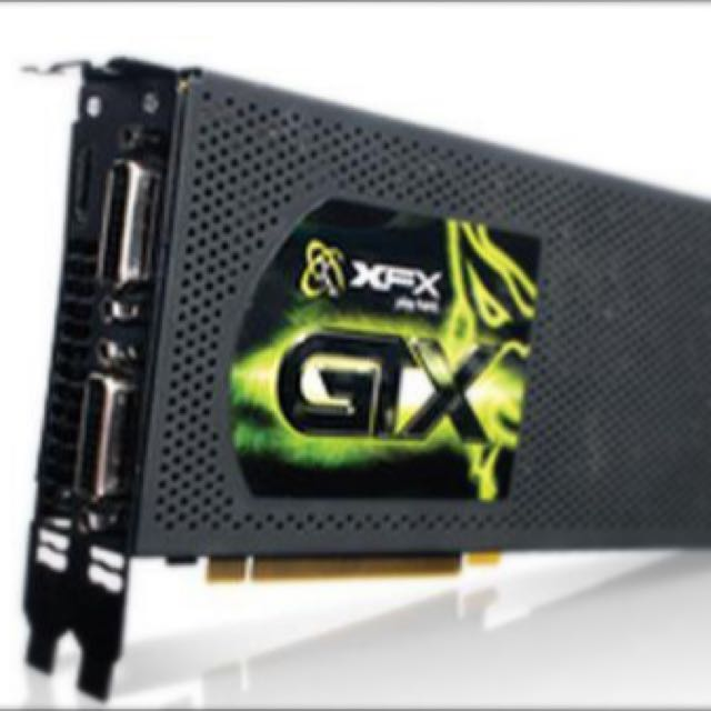 XFX GeForce 295 GTX 1792MB DDR3 graphics card