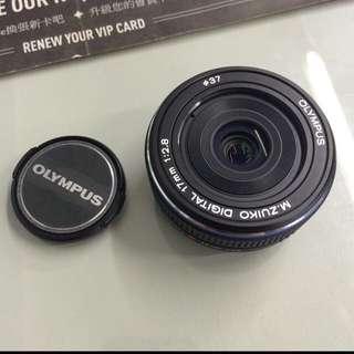 Olympus f2.8定焦鏡頭、餅乾鏡 M4/3
