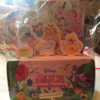 迪士尼愛麗絲便條紙