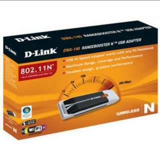 Wireless N USB Adapter DWA-140