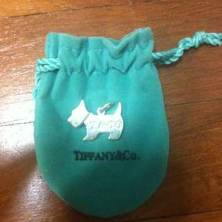 Inspired Tiffany And Co Puppy Pendant