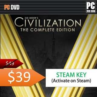 Civilization V Complete Edition Steam