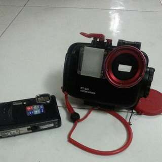 Used Underwater Olympus Camera And Underwater Casing For Sale  Price Revised