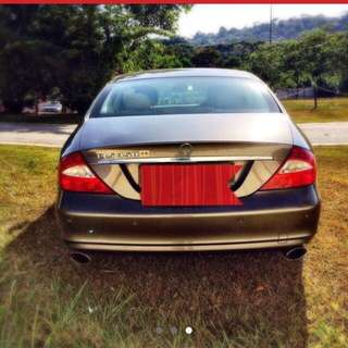 CLS350 Mercedes Benz For Rent
