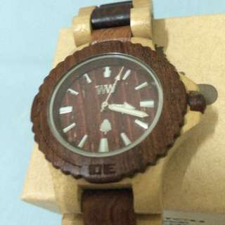 Wewood手錶Date Beige/brown